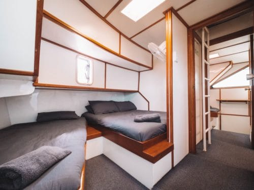 , Floating Accommodation :: Run Off Barra Fishing